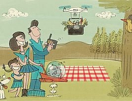 On the future buzz of drones